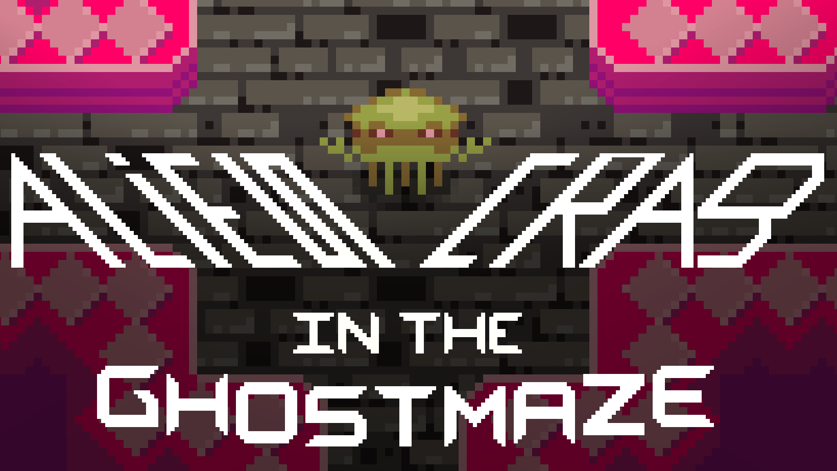 Alien Crab in the Ghostmaze